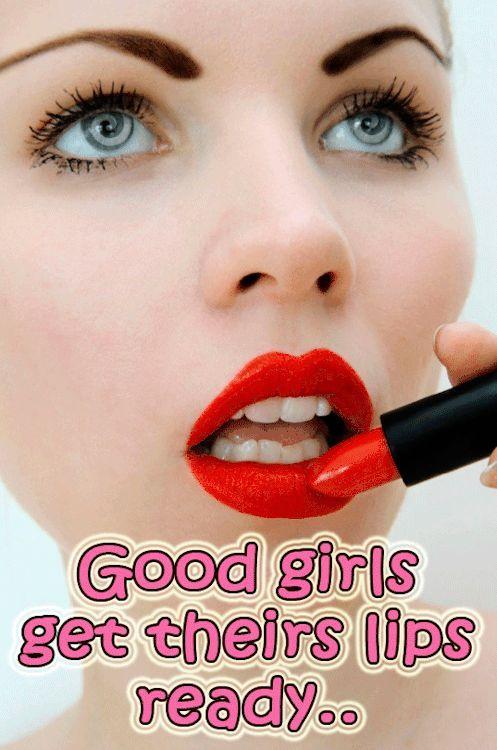Men lipstick fetish, mature women in tight shirt