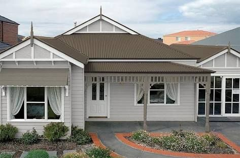 Colorbond Shale Grey Roof On Queenslander Google Search