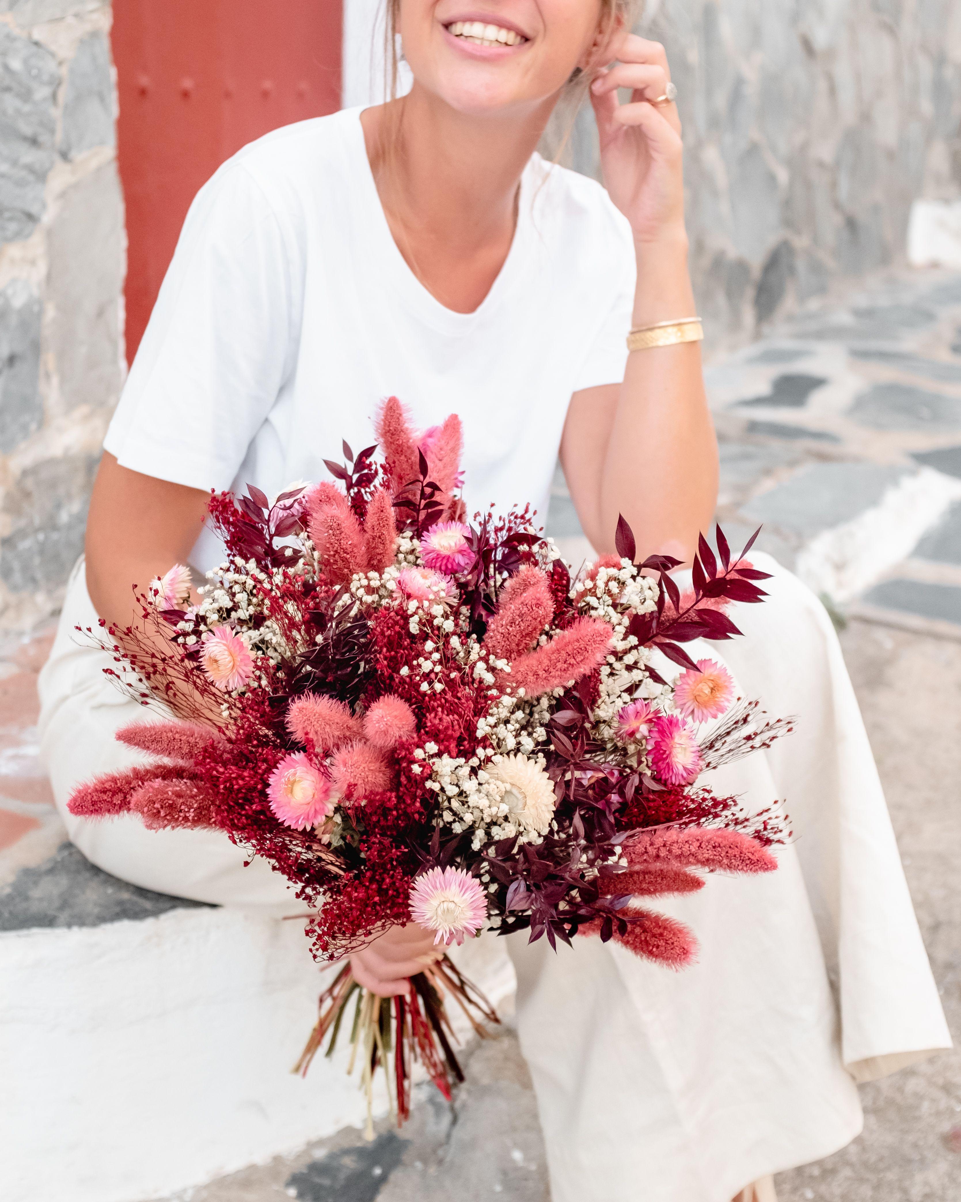 Comment Faire Secher Une Rose Fraiche bouquet de fleurs séchées begur - rosa cadaqués | fleurs