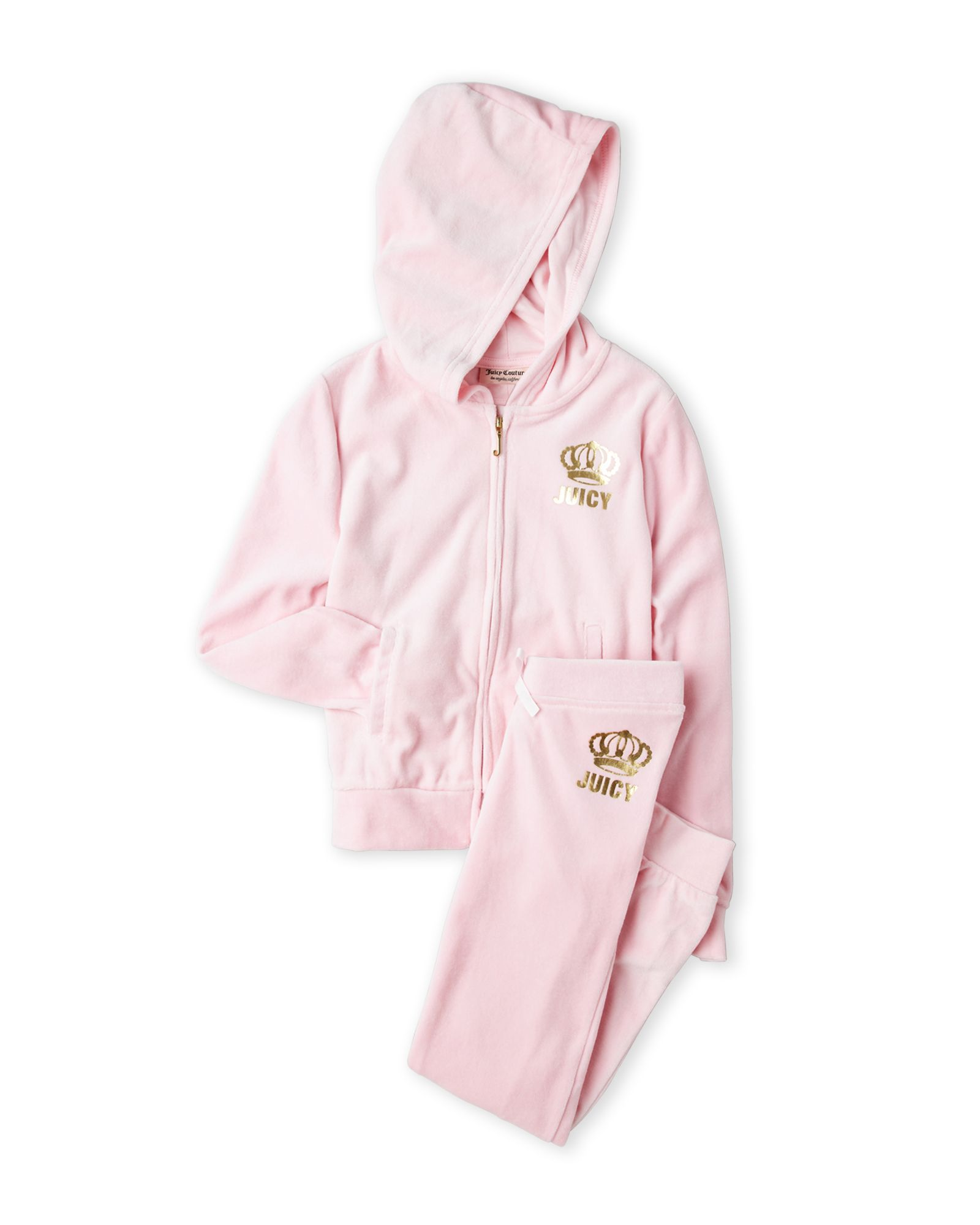 f80210fb2 Girls 4-6x) Two-Piece Velour Sweatsuit | *Apparel & Accessories ...