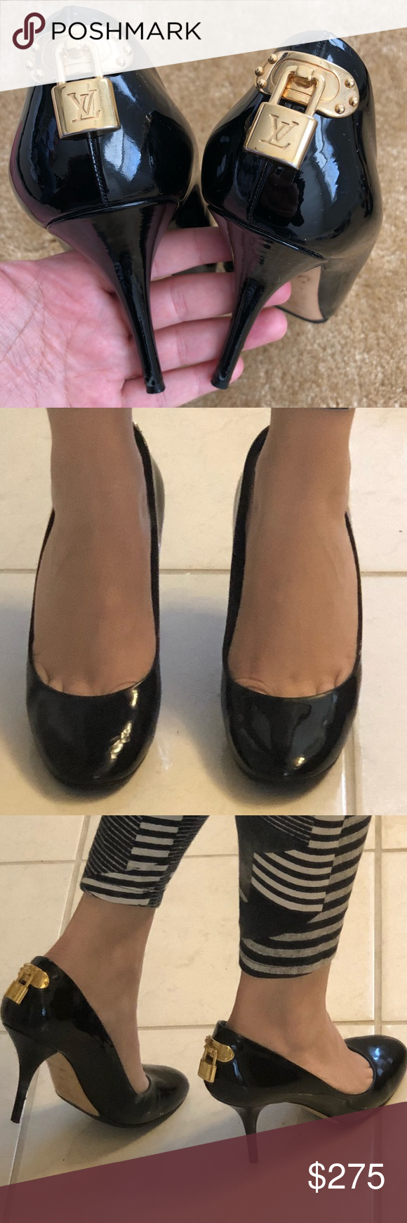 789c29ce8de4 Louis Vuitton Pumps ·  atozcovered Lives in the DMV area! Spotted while  shopping on Poshmark  WILLING TO