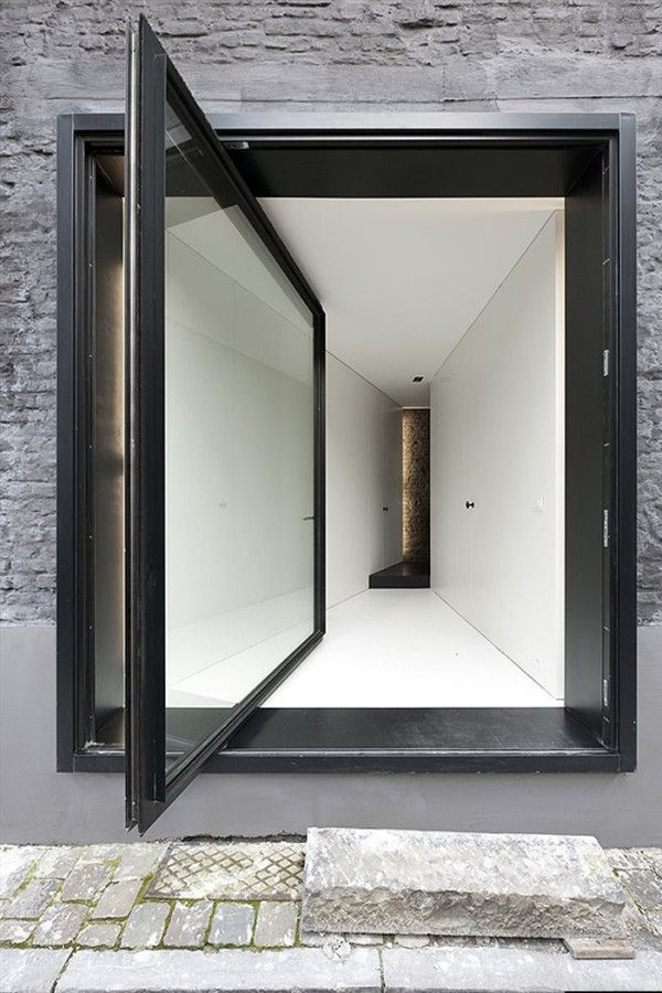 An Alternative To The Sliding Door Pivot Doors Design Milk Intended For Top  Architectural Sliding Glass