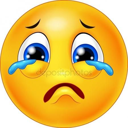 Cartoon Emoticone Pleurer Emoticone Triste Images Emoji Emoticone
