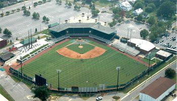 Grainger Stadium Kinston Nc Baseball Park Kinston Sports Arena