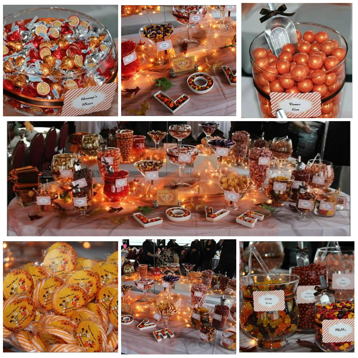 Fall Wedding Dessert Buffet: Pin By Candy.com On Orange You Glad It's Candy?