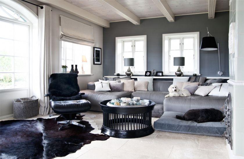 Deco bord de mer chic salon élégant maison de plage decoraion scanfinave ile de sylt peinture