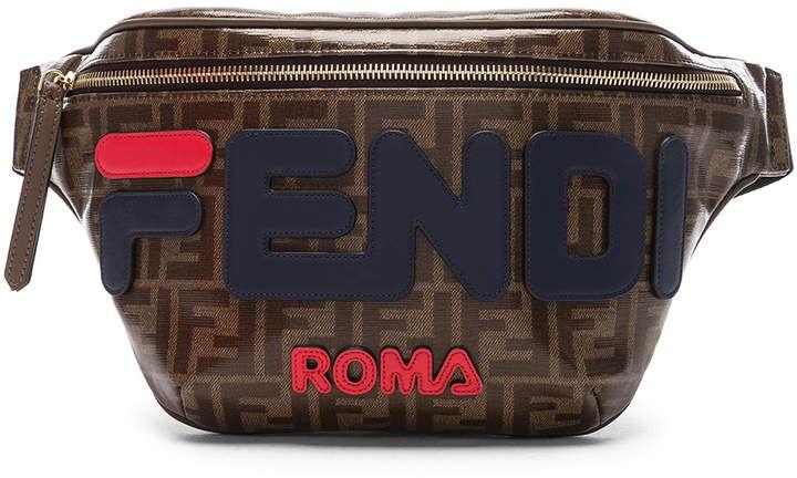 04697a47659e Fendi Mania Logo Fanny Pack