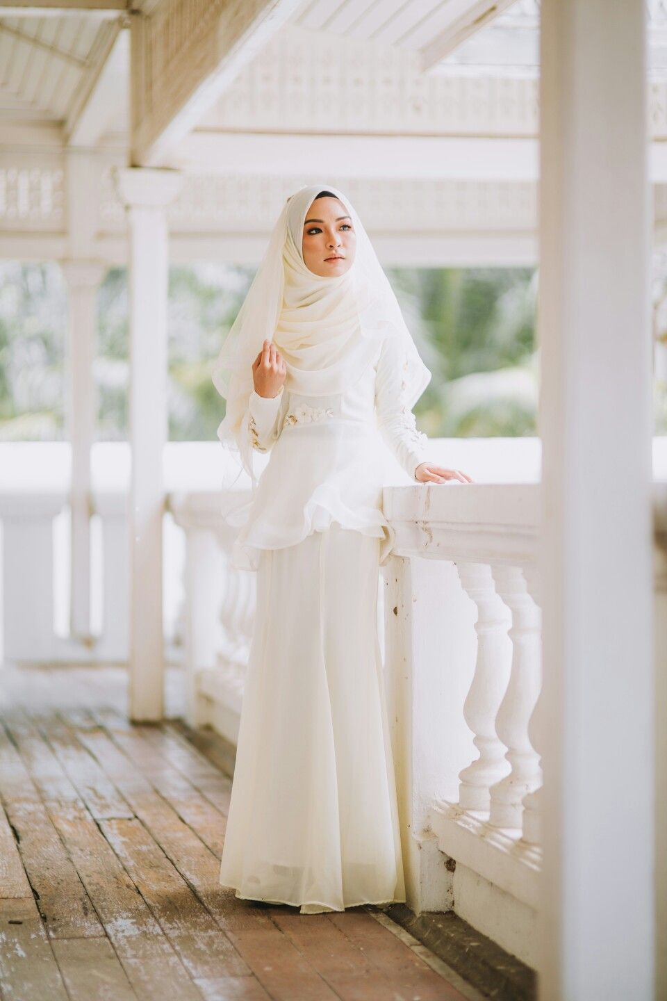 Eldora Peplum in Cream from Fleur Edition Baju Nikah & Tunang