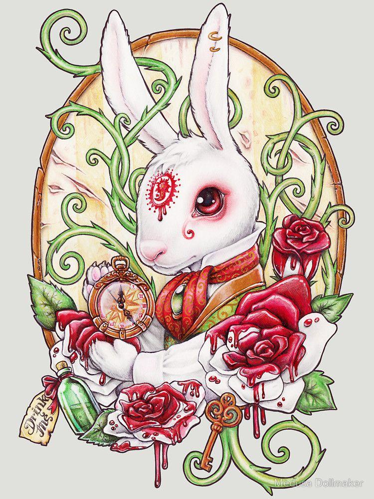 """Rabbit Hole"" T-Shirts & Hoodies by Medusa Dollmaker | Redbubble"