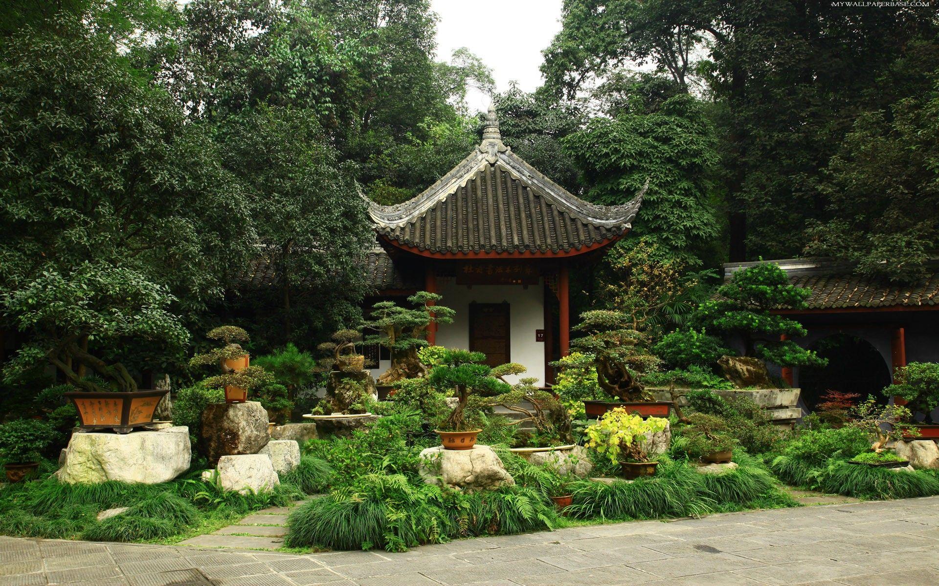 Japanese Home Garden Plants Trees Homegarden Bonsai Garden Garden Plant Pots Japanese Bonsai