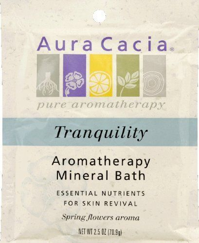 Aura Cacia Mineral BATH TRANQUIL CHAMOM 2.5 OZ by Aura Cacia. $3.29. Aromatherapy Mineral Bath Tranquility, 2.5 oz, From Aura Cacia