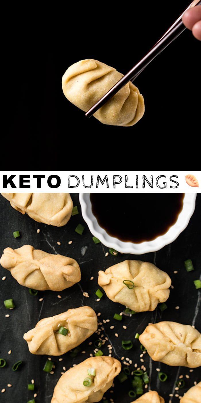 Gluten Free LCHF Dumplings (with a steamed ginger pork filling!)