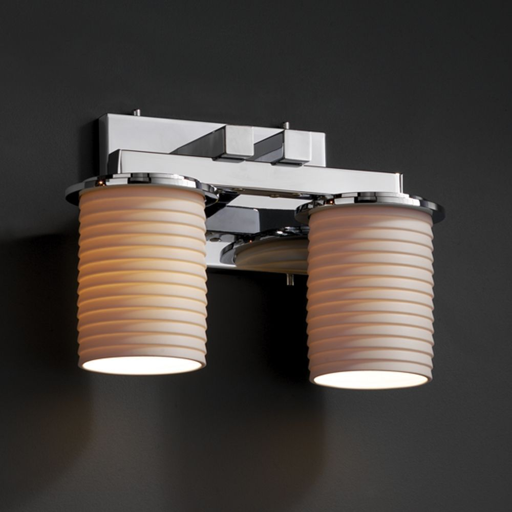 Justice Design Group Limoges Collection Bathroom Light Light - Justice design group bathroom lighting for bathroom decor ideas