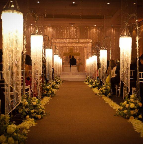 wedding luxury decor lighting decoration events receptions ceremony marriage gold event february beach weddingsromantique lights
