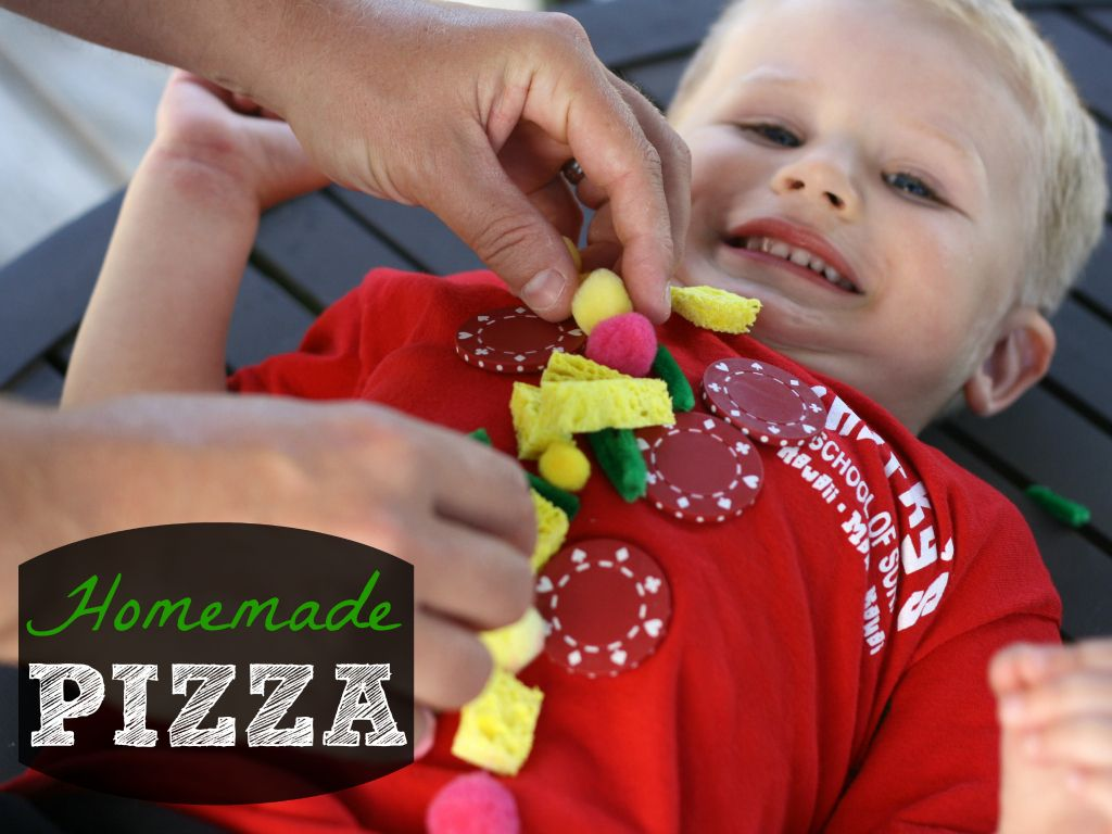 """My son giggled his way through this playful follow up to """"Pete's a Pizza"""". {Playdough to Plato}"""