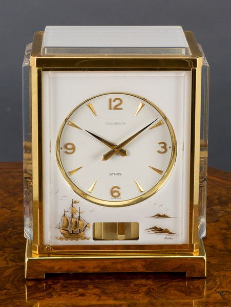 823afa4729e Vintage LeCoultre Atmos 528-8 Perpetual Motion Clock - Working - Serial    297293