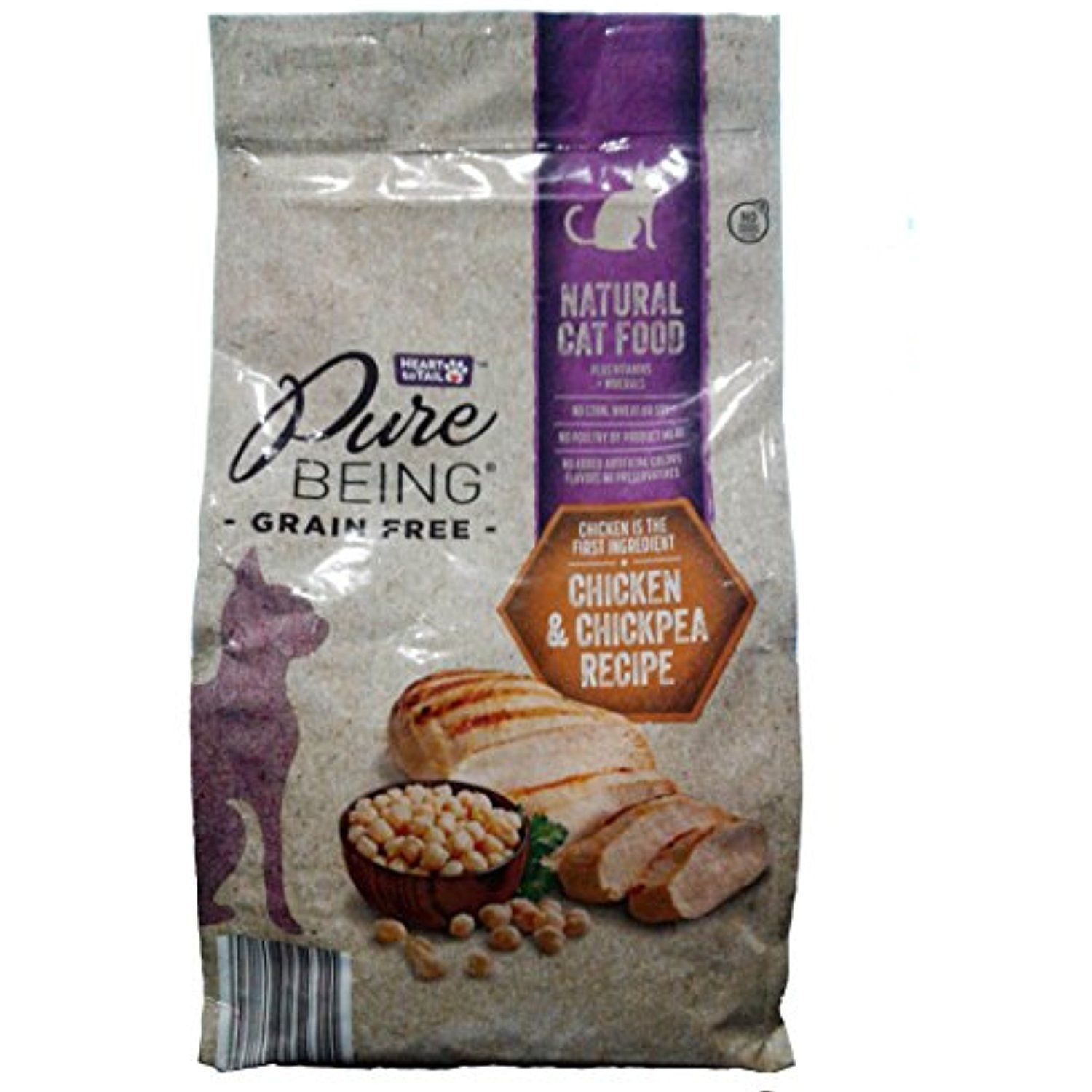 Pure Being Grain Free Natural Cat Food Chicken Cats