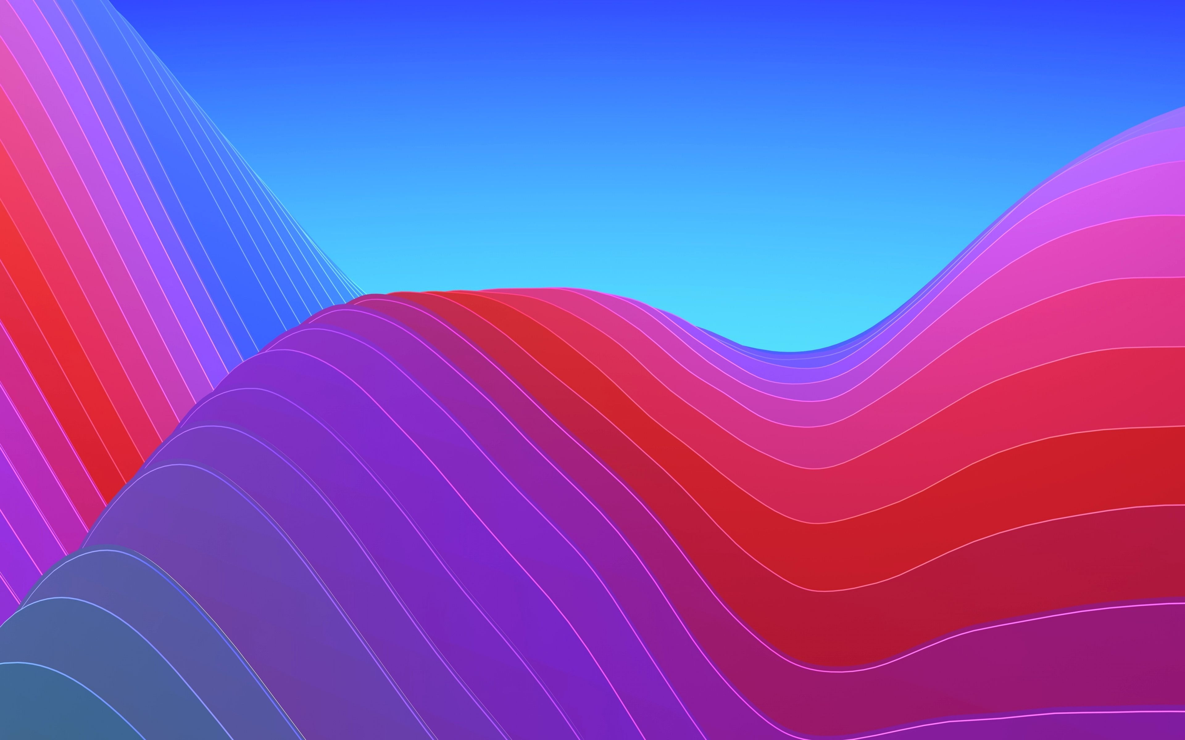 Iphone Wallpaper 4k Ios 10 Gallery Abstract Waves Ios 11 Wallpaper Abstract