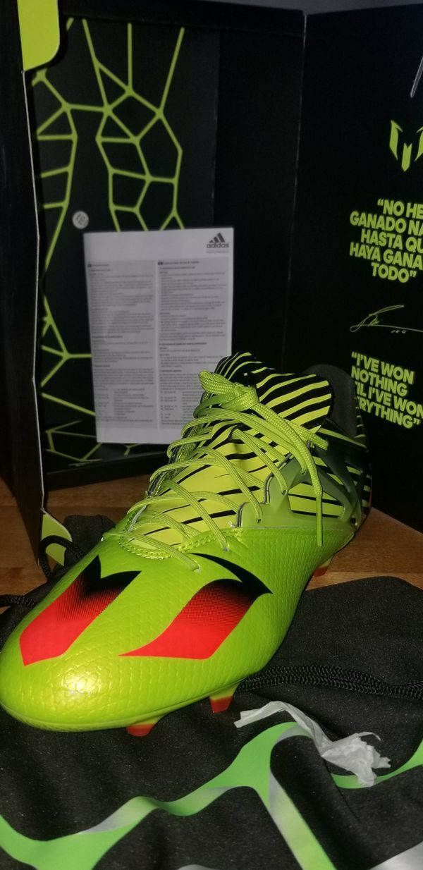 Messi 15.1 US 10.5 Adidas soccer cleats