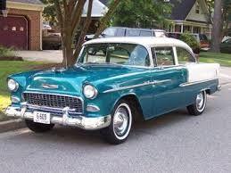 1955 Chevrolet Bel Air Sherwood Green Google Search Vintage