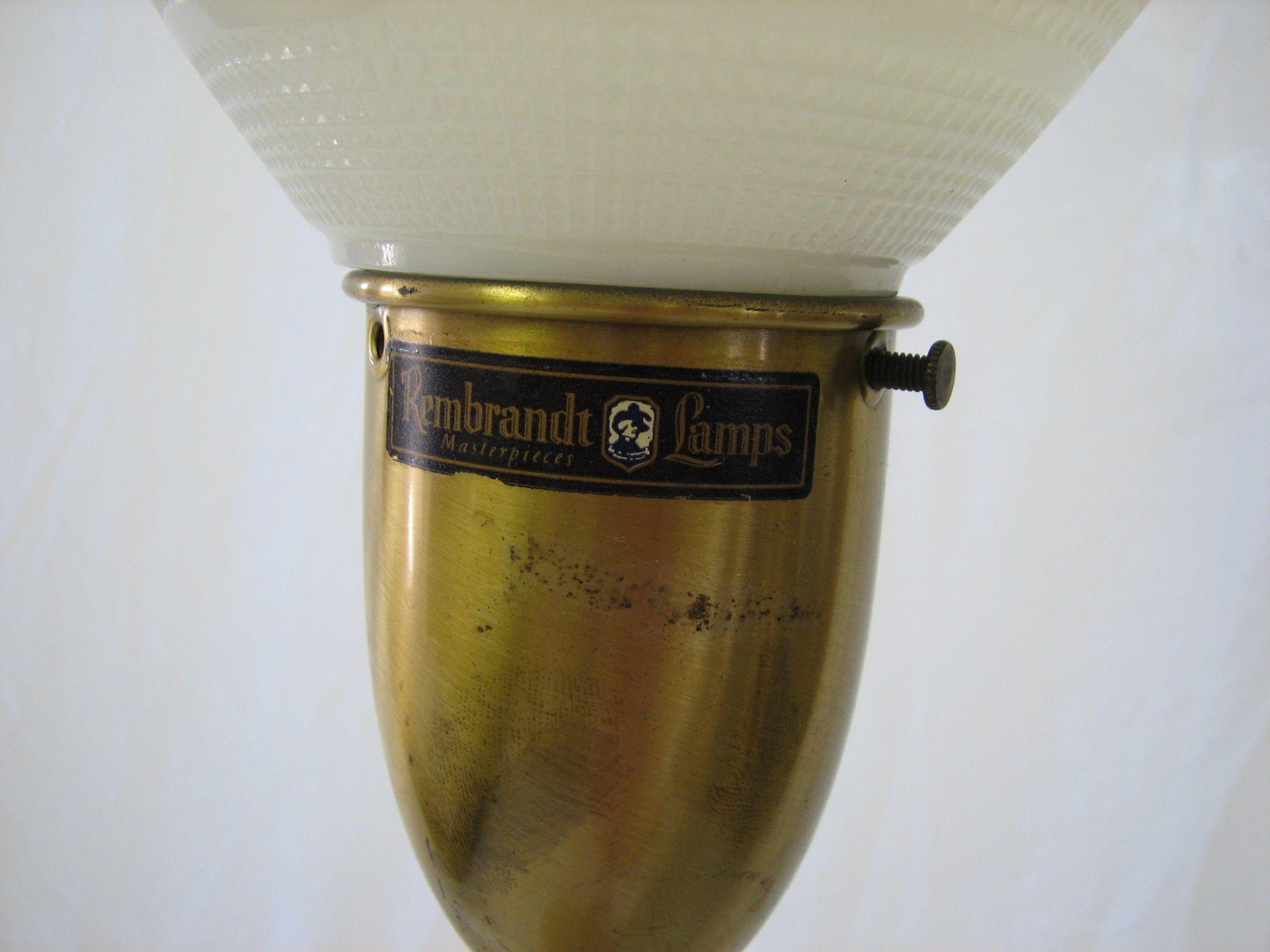 Rembrandt Lamp Label