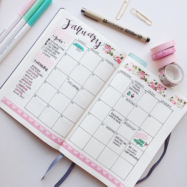 bullet journal monthly log planner addiction. Black Bedroom Furniture Sets. Home Design Ideas