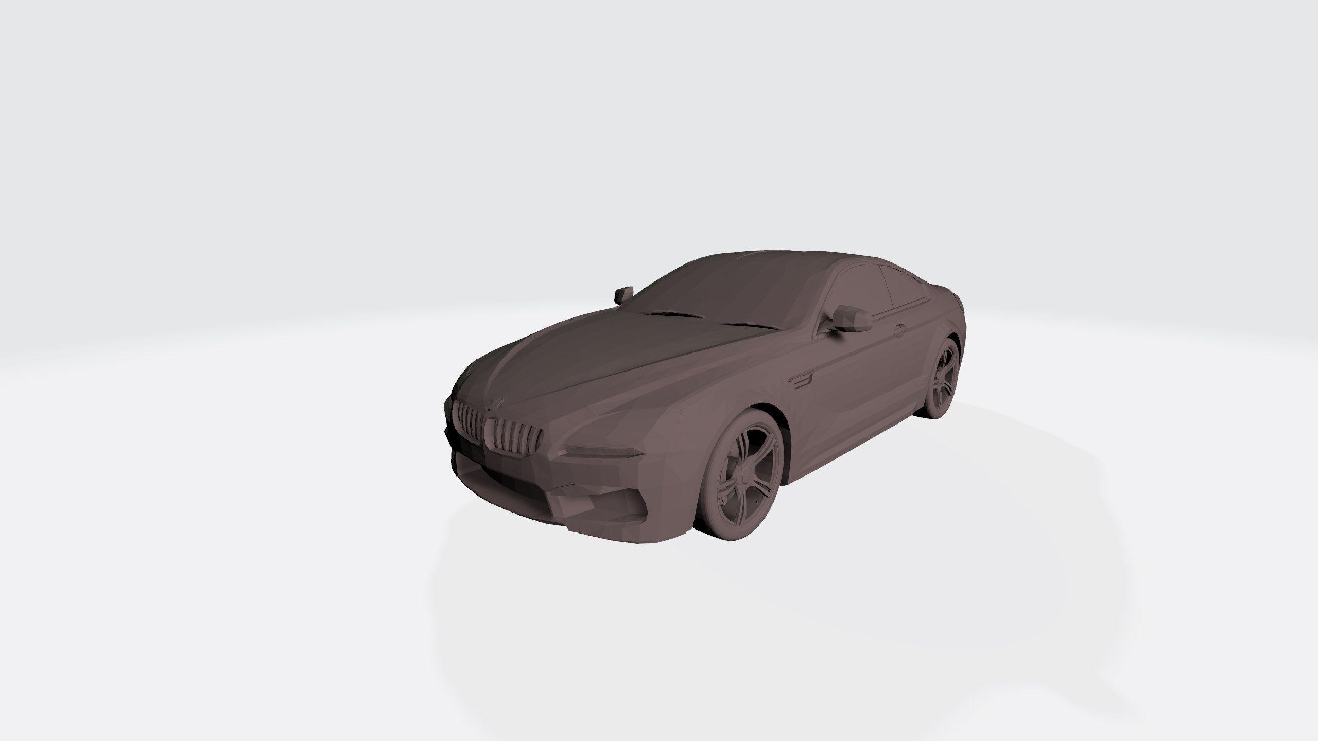Bmw M6 3d Model 3d Cars For Printing 3d Model Car 3d Printing Model Stl File For 3d Printers 3d Cars Bmw M6 Bmw 3d Model