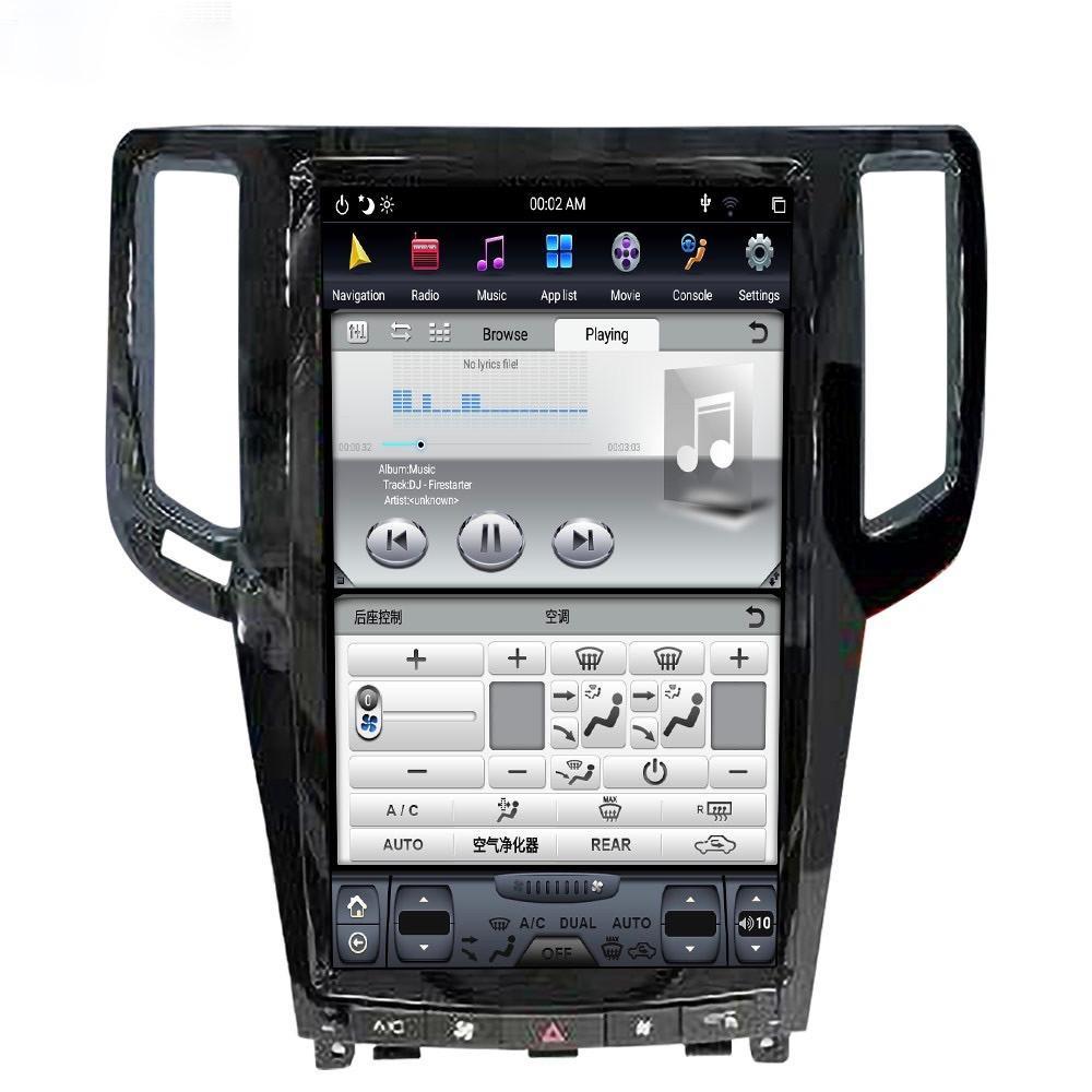 Infiniti G25 G35 G37 Q40 2007 2015 13.6 Android radio
