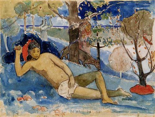 The queen of beauty - Paul Gauguin