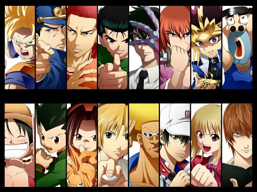 Shonen Jump Protagonists ヒーロー