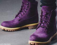 info for d5a5a 09e77 Timberland 6 Inch Premium Purple Diamond Boots 10 Villa Emerald Red Mono  blue