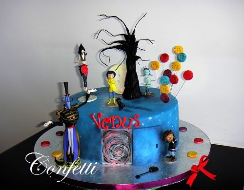 Cake Art Jeddah : Coraline Cake Discover best ideas about Coraline, Cake ...