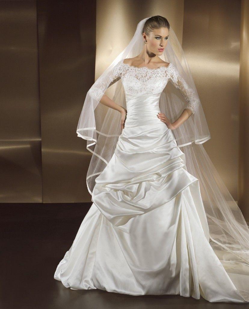 Simple Elegant Modest Wedding Dresses: Simple Elegant Modest Wedding Gowns