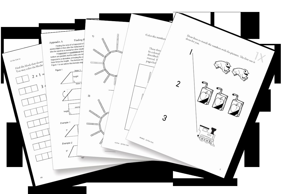 Homeschoolmath Worksheets In