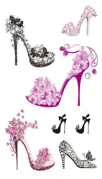 high heel shoe tattoo designs finger tattoo designs online shopping wholesale finger tattoo. Black Bedroom Furniture Sets. Home Design Ideas