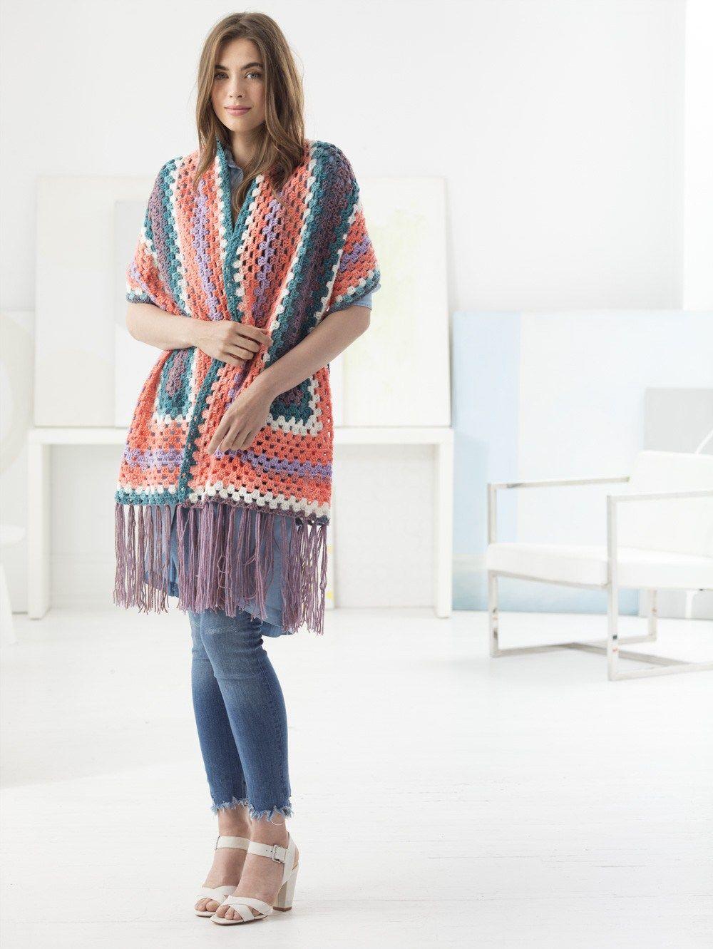 Stylish Crochet Shawls Roundup | Ponchos