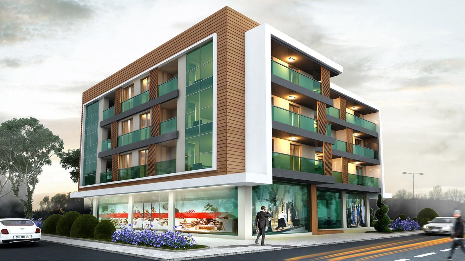 Mimarlik Mimari Dis Cephe Tasarim Building Design
