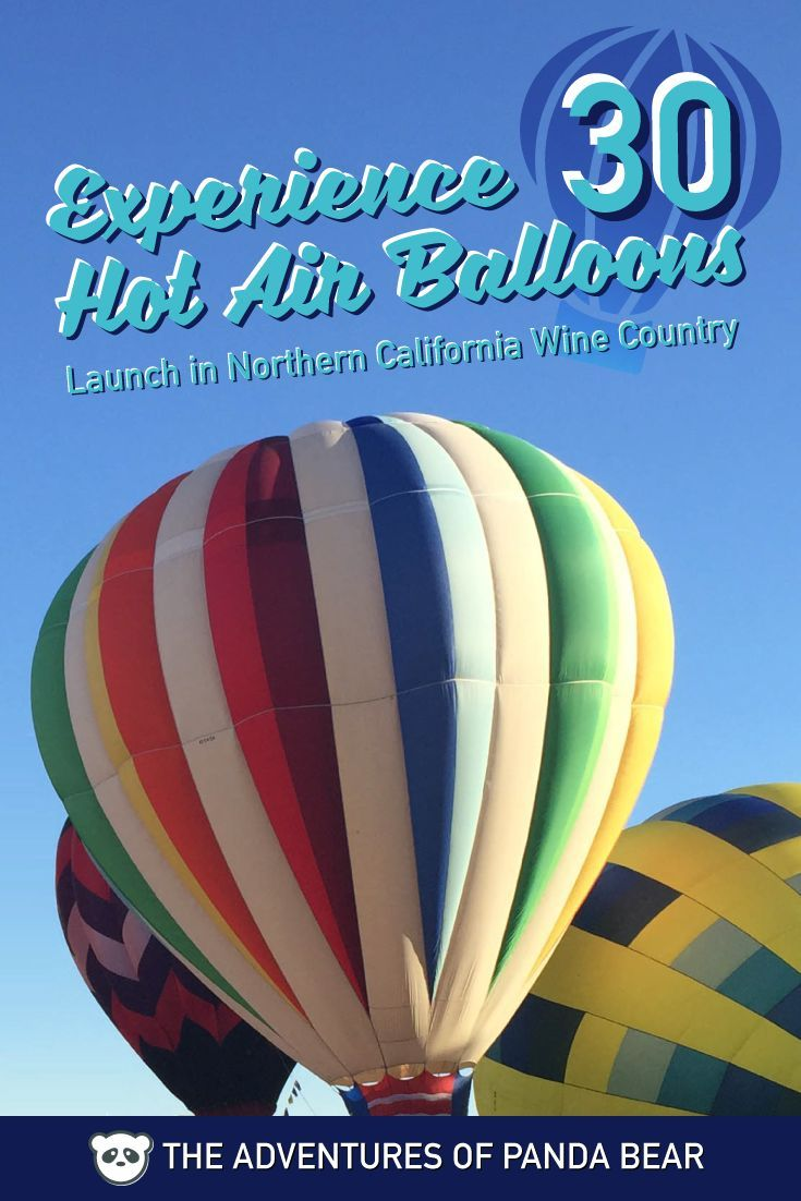 Hot Air Balloon Festival in Wine Country, California
