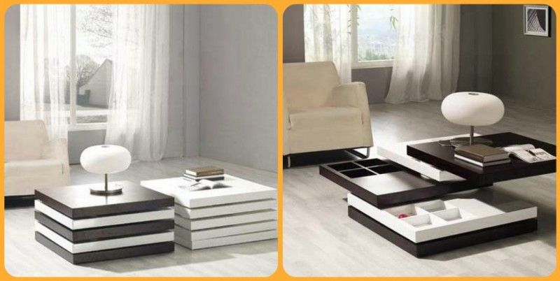 multifunctional furniture for small spaces. Mesa Almacenaje #mueble_multifuncional #multifunctional_furniture Multifunctional Furniture For Small Spaces