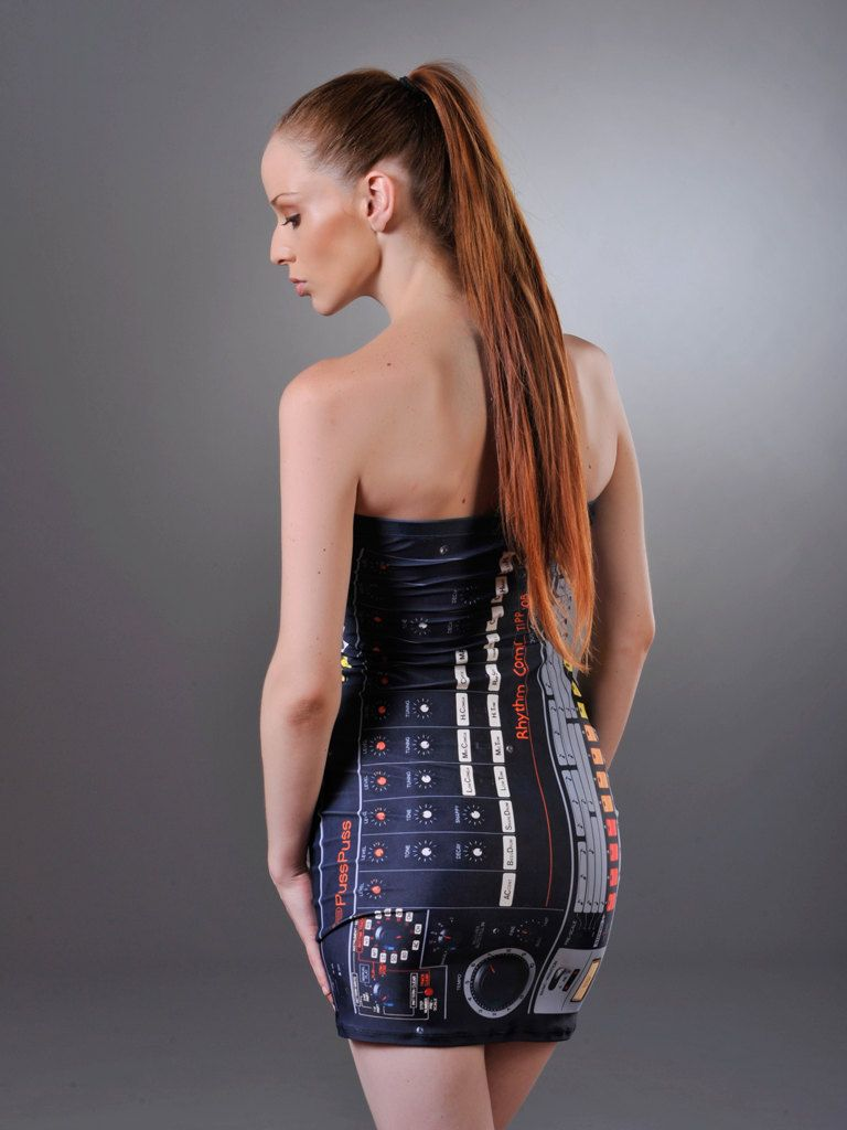 "tube dress ""pp-808"". $98, via etsy. awesomeo 808-booty! 
