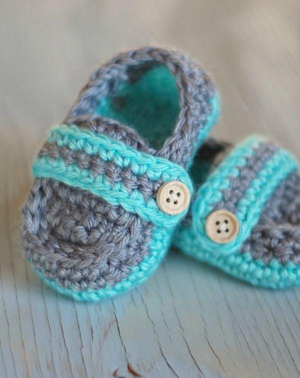 Monk Strap Booties Crochet Pattern | Crochet / Knitting Projects ...