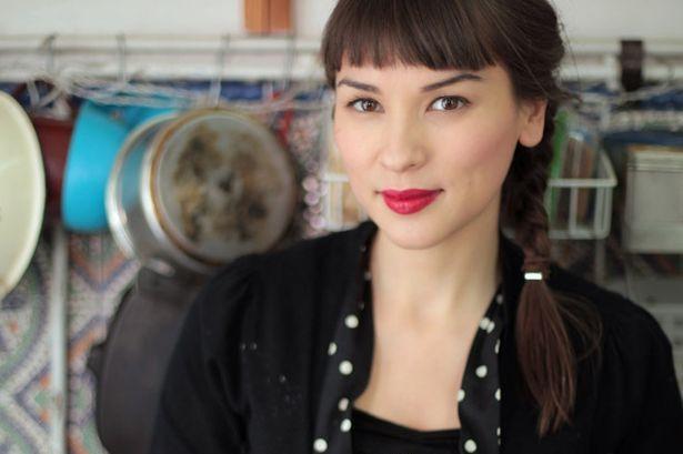 Rachel Khoo, the cook. She's half Chinese-Malay and half Austrian.