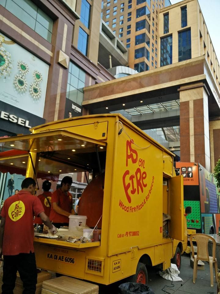 15 new food trucks in bangalore that cater to the citys