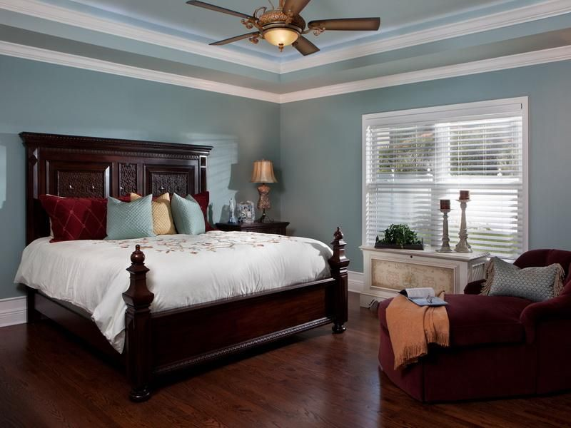Tray ceiling ideas yahoo search results for the home Master bedroom ceiling colors