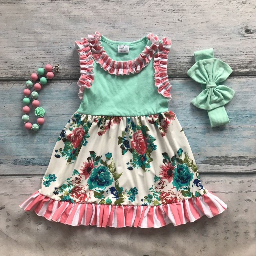 Click to buy ucuc spring summer cotton design new baby girls kids