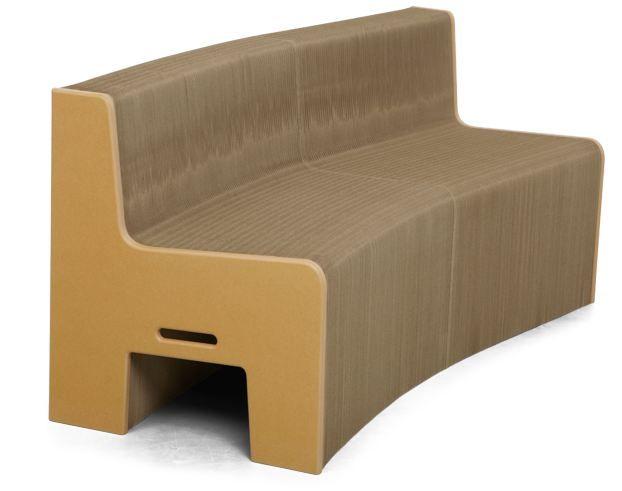 Fauteuil Accordeon En Carton Flexible Love We Love It Fauteuil Design Mobilier Design Fauteuil