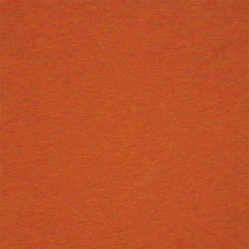 2e6e2aa46eecc6 Heather Burnt Orange Solid Baby Cotton Jersey Knit Fabric - A light weight