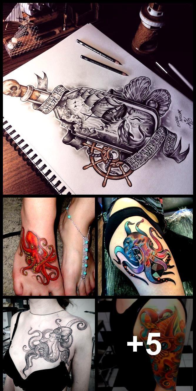 Photo of 155+ Realistische Octopus Tattoo Designs und Bedeutungen, #Designs #Meanings #Octopus #OctopusTatt …