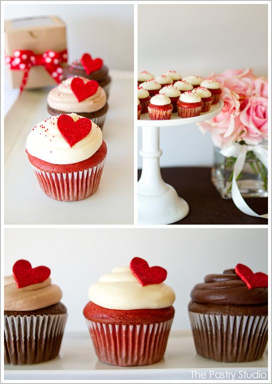 #valentines // vday cupcakes