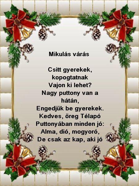 szerelmes idézetek mikulásra Pin by Anita Szánti Voller on versek   Karácsonyi üdvözletek